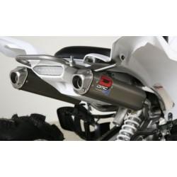 Scarico Doppio Quad DMC Yamaha YFM 700R (colore Antracite) 14