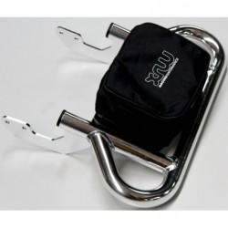 Porta Pacchi - Porta Documenti Cromato Honda TRX 450