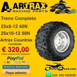 Treno Completo 25x8-12 + 25x10-12 Artrax Countrax AT1306