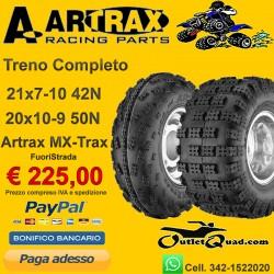 Treno Completo 21x7-10 + 20x10-9 Artrax MX-Trax AT1201/2