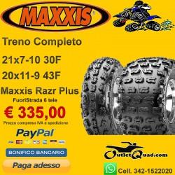 21x7-10 + 20x11-9 Maxxis Razr XC